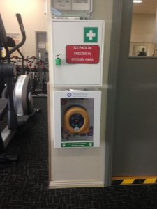 Club Synergy AED ready for action in Need