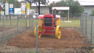 The Little Red Tractor back to its former glory (well almost)